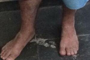 Homem de 38 anos foi preso após estuprar deficiente mental na praia.