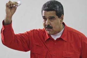 Nicolás Maduro tomou posse para um segundo mandato, desta vez até 2025