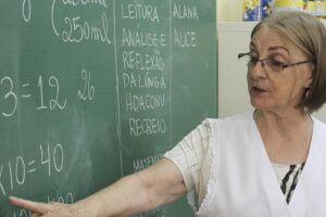 O governador de São Paulo disse que ter o professor em sala de aula é condição mínima para a educação.