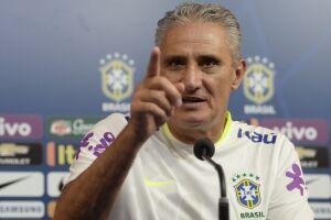 Rogério Caboclo prestigiou o técnico da seleção brasileira