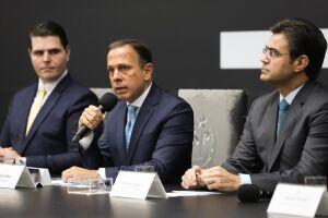 Governador João Doria anunciou a ampliação do 'Corujão da Saúde'