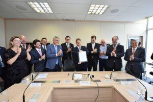 Assinatura da Anuência à Concessão ocorreu hoje em Brasília