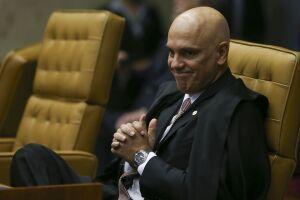 Alexandre de Moraes é o relator do inquérito das fake news no Supremo