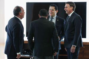 Bolsonaro reclamou ainda da 'obsessão de quem está fora do governo de criar cisão dentro do governo'