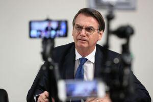 A aprovação de Jair Bolsonaro alcançou 62% entre seus seguidores nas redes socias
