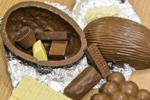 Os ovos de chocolate são muito aguardados pelas crianças.
