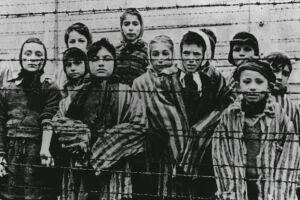Mais de 1 milhão de crianças morreram durante o Holocausto.