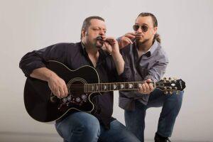 A 5ª Mostra de Blues de Santos traz a apresentação duo paulistano Márcio Scialis e Little Will
