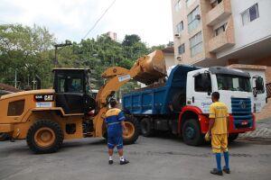 São materiais oriundos de 1.877 obras concluídas na Cidade