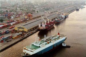 No Porto de Santos, serão leiloadas duas áreas