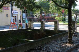 As melhorias da primeira etapa abrangem a construção de seis novas passarelas de pedestres e recuperação de duas existentes