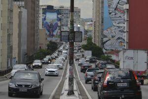 Em março, houve uma queda de -4% no número de mortes no trânsito no estado