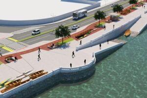 O projeto Nova Ponta da Praia inclui várias alterações significativas.