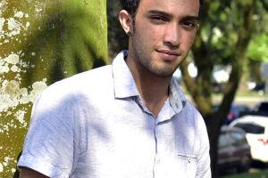 O estudante Vitor Hugo Arruda