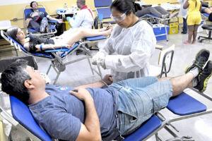 Serviço de doação de sangue pode passar a ser realizado por veículo em Santos caso lei seja aprovada.