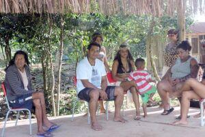Preocupação das lideranças indígenas é que o vírus não contamine as famílias nas aldeias do litoral sul.