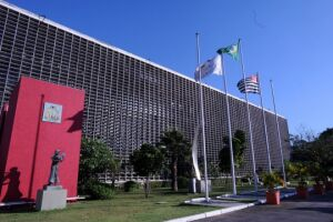 Assembleia Legislativa de São Paulo, na zona sul da Capital
