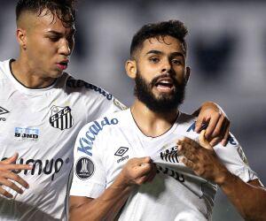Veja fotos de Santos 1 x 0 Boca Juniors pela Libertadores 2021