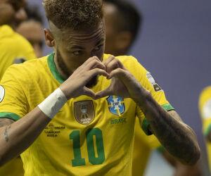 Confira imagens de Brasil 3 x 0 Venezuela pela Copa América