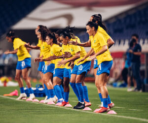 Brasil vence a Zâmbia e avança às quartas da Olimpíada