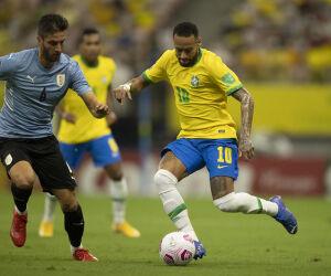 Veja as fotos da goleada do Brasil sobre o Uruguai