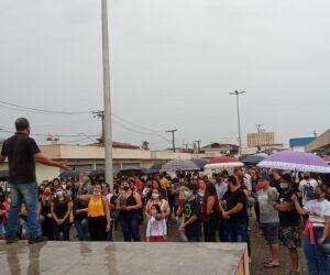 Protesto em Itanhaém após mulher ser morta em assalto