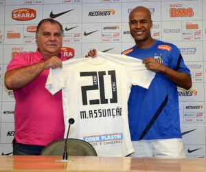 Apresentação Marcos Assunção Santos FC