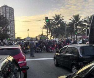 Manifestação Geral em Santos (11/07)