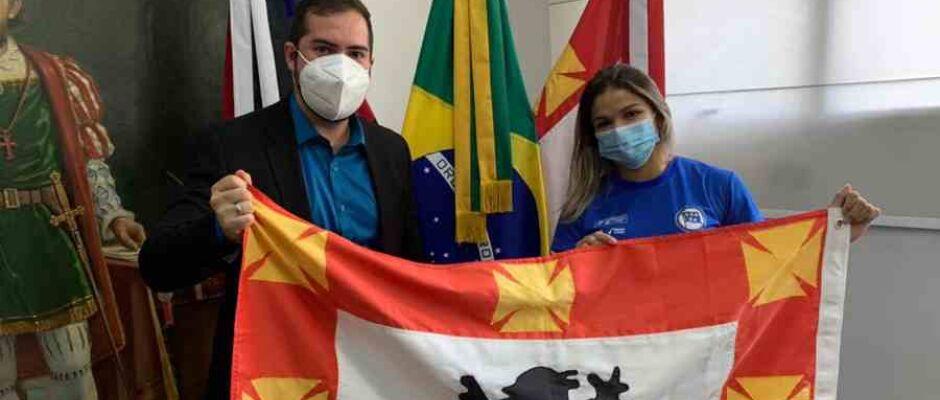Judoca Larissa Pimenta será a representante vicentina nas Olimpíadas de Tóquio