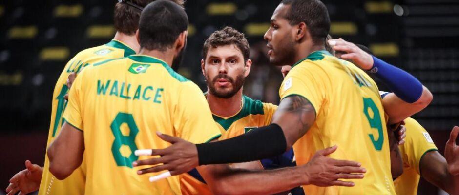 Vôlei: Brasil bate Japão e pegará Comitê Russo nas semifinais