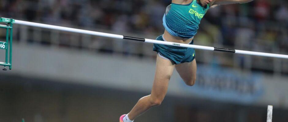 É bronze! Thiago Braz supera dificuldades e conquista bronze no salto com vara