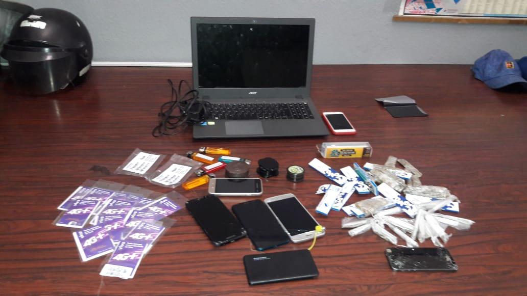 Flagrante de tráfico de drogas e receptação foi realizado nesta quarta-feira (5) (Foto: Divulgação/Polícia Civil)