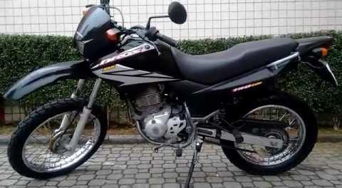 Modelo da moto similar ao que foi roubado da vítima