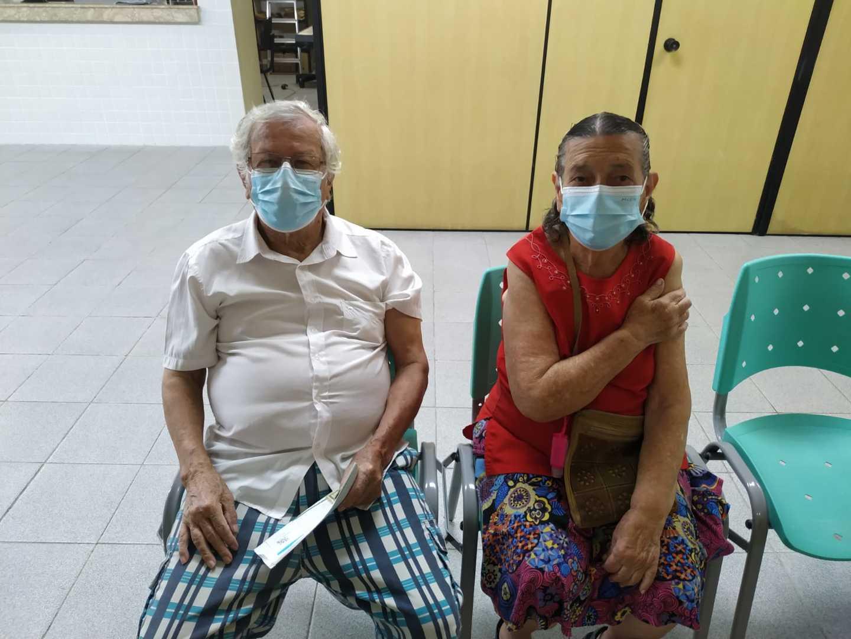 SV: mais de 750 idosos de 80 a 84 anos são vacinados