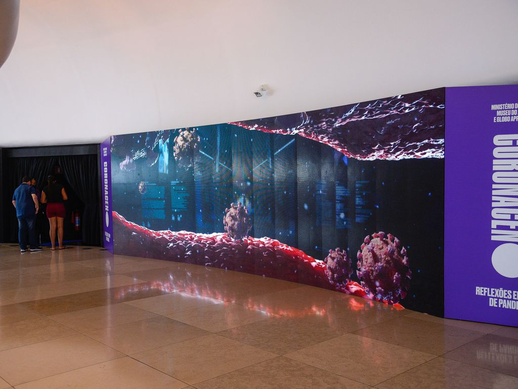 Museu do Amanhã inaugura exposição Coronaceno