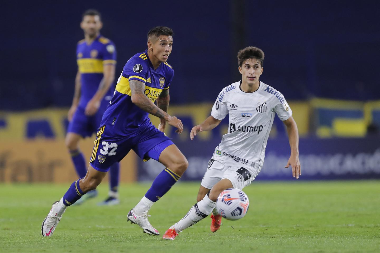 Veja fotos de Boca Juniors 2 x 0 Santos na Bombonera