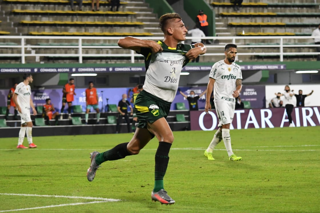 Recopa sul-americana: Defensa y Justicia 1 x 2 Palmeiras