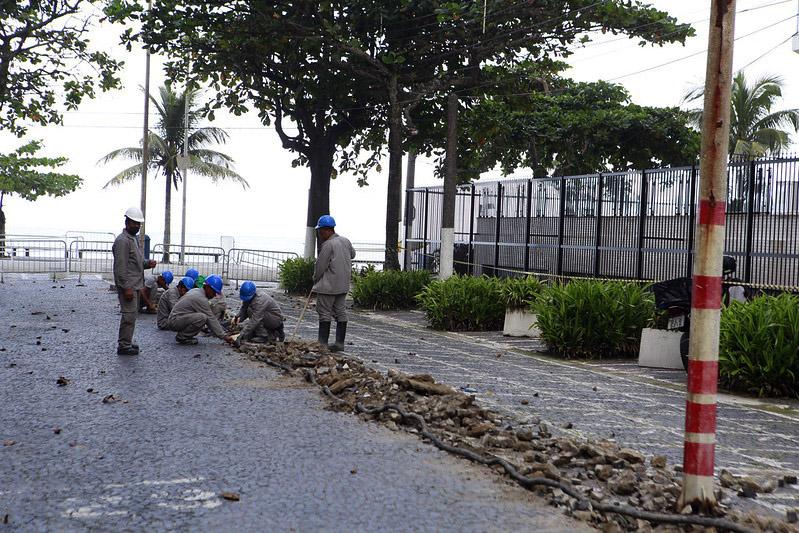 Guarujá amplia acessos viários à Praia de Pitangueiras