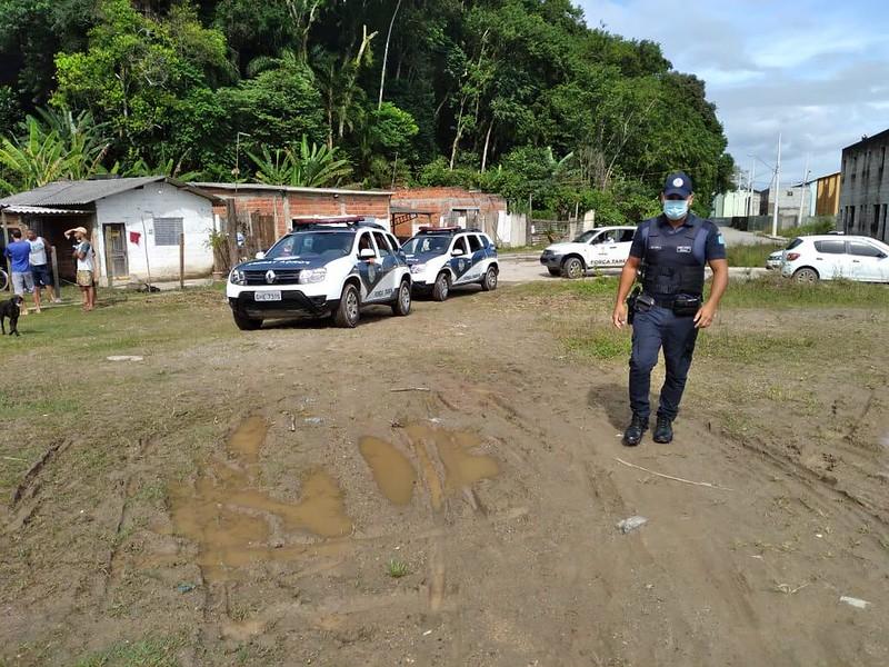 Força Tarefa em Guarujá impede invasões no Parque da Montanha