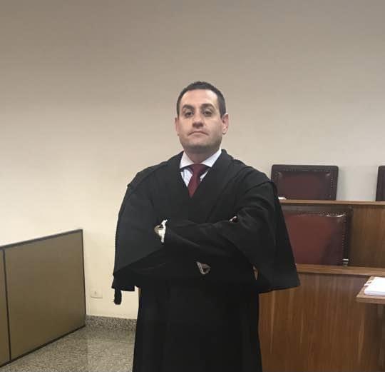 O advogado Anderson Domingues, um dos integrantes da defesa de Wellington dos Santos Souza (Foto: Divulgação)