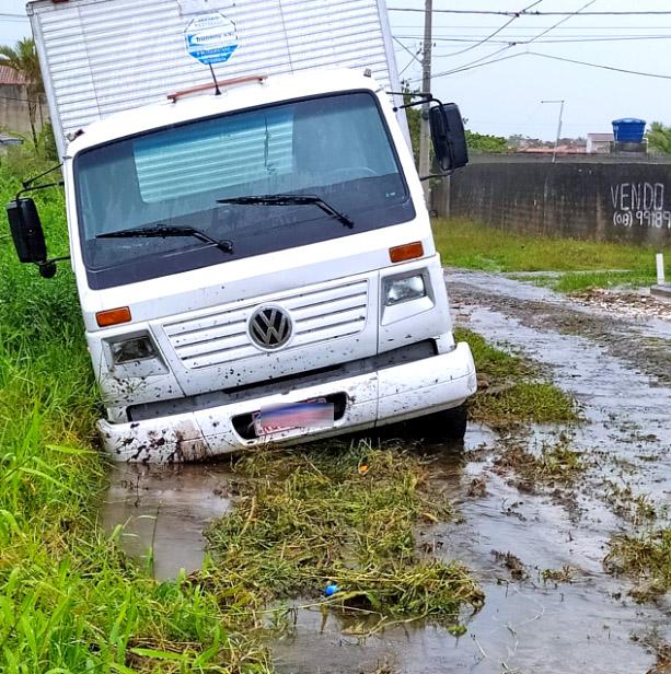 Itanhaém: Fortes chuvas provocam alagamentos no Cibratel II