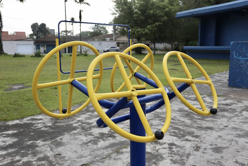 Guarujá conclui melhorias na academia da Praça da fraternidade