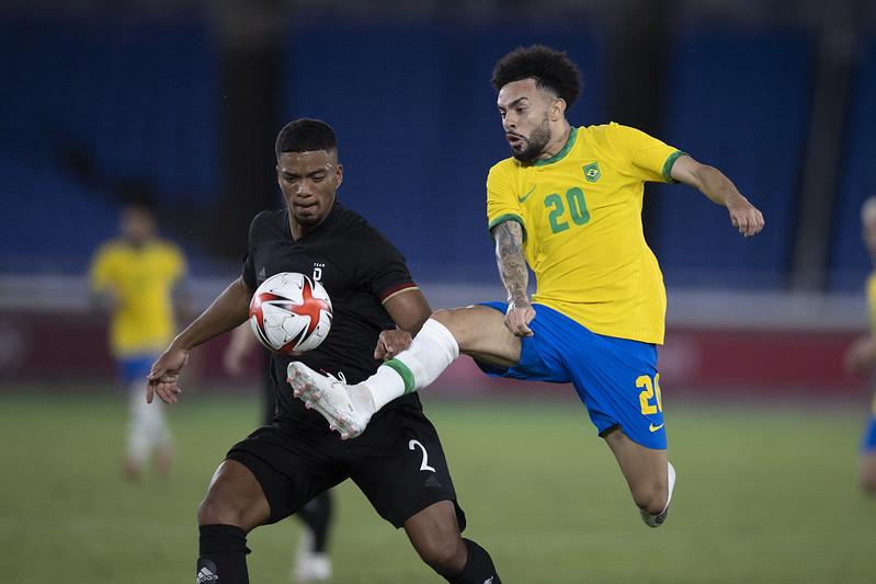 Brasil goleia a Alemanha na estreia nos Jogos Olímpicos