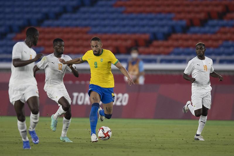 Seleção masculina só empata com a Costa do Marfim