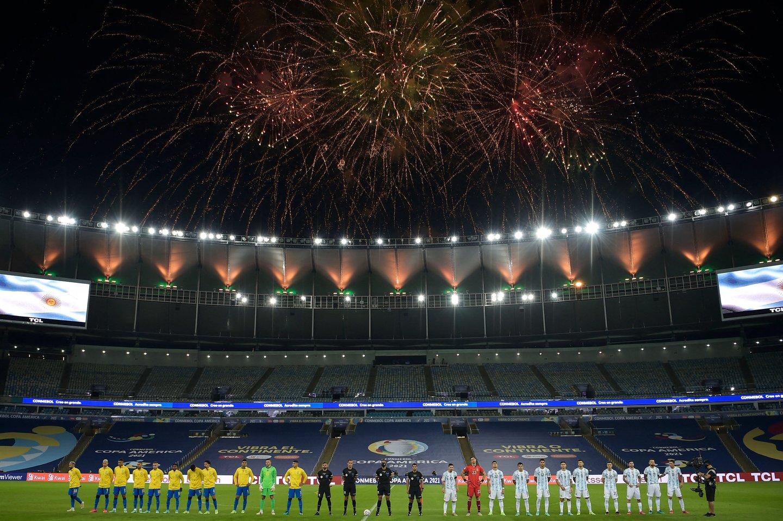 Brasil x Argentina: veja fotos da final da Copa América