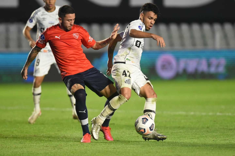 Santos 1 x 0 Independiente pela Sul-Americana: veja fotos