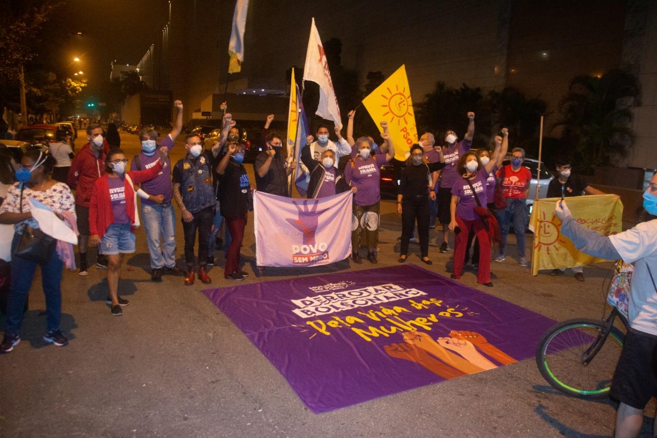 Baixada tem atos em defesa das eleições e contra Bolsonaro
