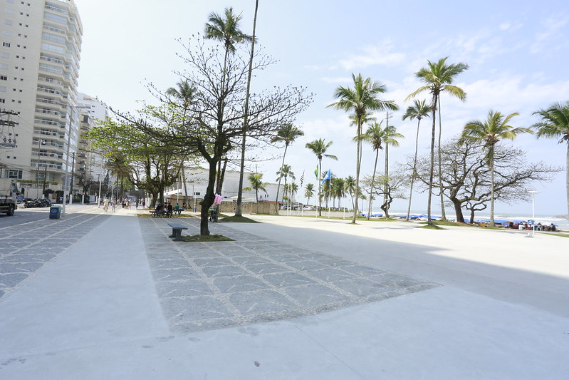 Obras na nova Praça das Bandeiras estão 85% concluídas