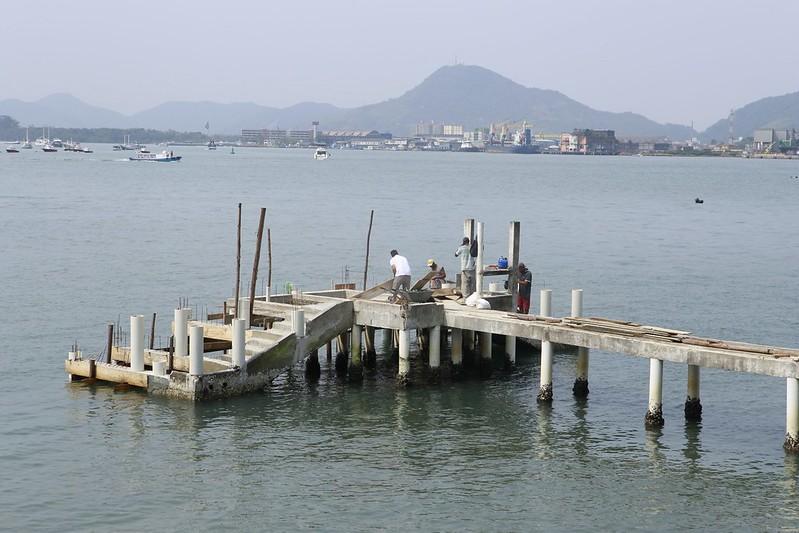 Revitalização do pier da Fortaleza da Barra