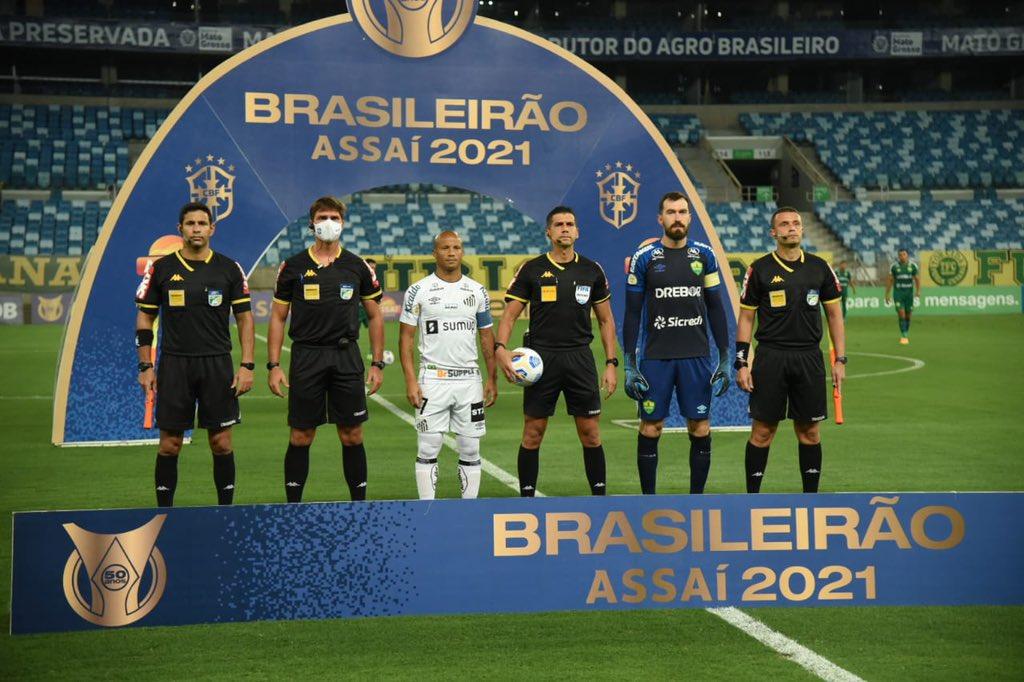 Santos perde do Cuiabá e vai despencando na tabela